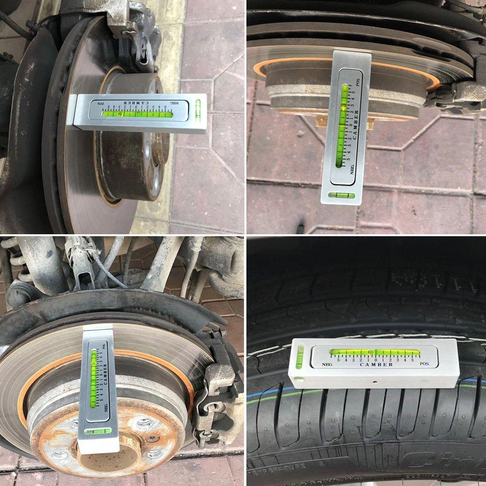 Walmeck Newst Adjustable Magnetic Gauge Tool Camber Castor Strut Wheel Alignment Truck Car by Walmeck (Image #8)