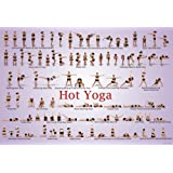 Hot Yoga Floor Chart and Wall Poster