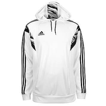Adidas Men's Speedkick Condivo Hoodie (White/Black) (X-Large)