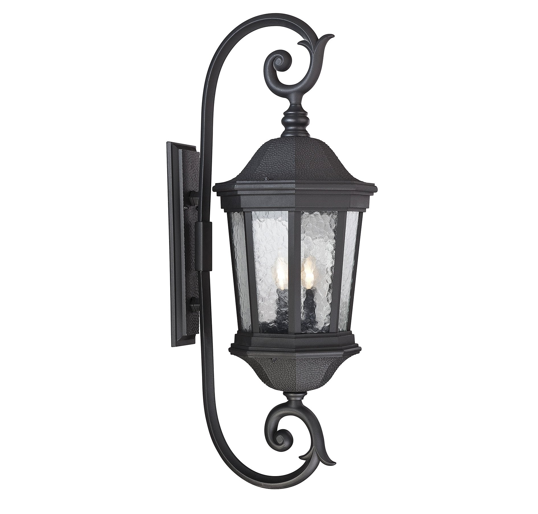 Savoy House 5-5085-BK Hampden 3-Light Outdoor Wall Lantern in Black by Savoy House