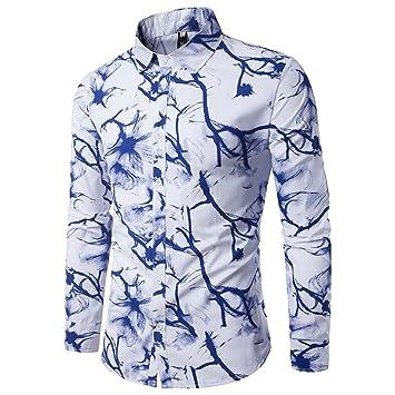 Babysbreath Hombre Camisas Tinta De Tintado Imprimir Casual ...
