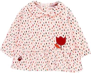 boboli Vestido Terciopelo de beb/é ni/ña Modelo 121026