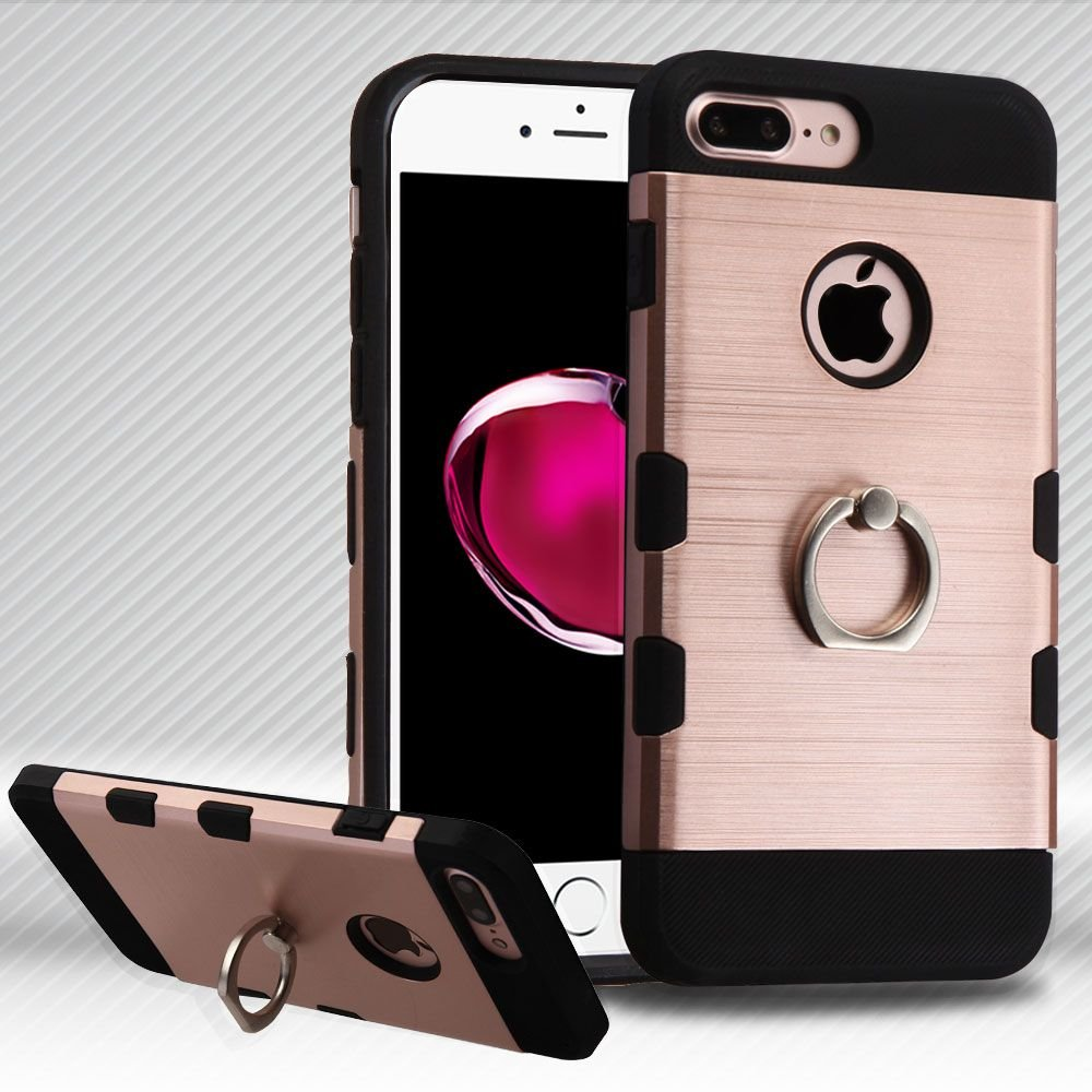 Asmyna Cell Phone Case For Apple Iphone 7 Plus Rose Gold Black Ebay