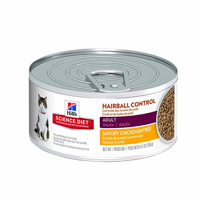 Hill's Science Diet Hairball Control Cat Food - Best Wet Food