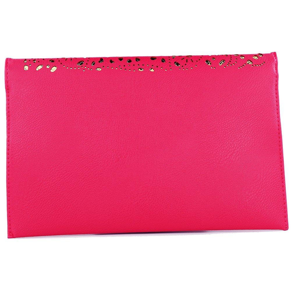women bag 2017 bolsa feminina women purses and handbags women leather handbags crossbody bags for women crossbody purse bolsos mujer elegante bag small crossbody bags for women clutch bag (rose red) by imentha (Image #3)