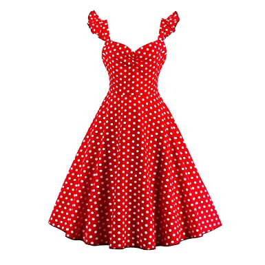 Summer Dress Women Patchwork Vintage Dress With Strap Plus Size Party Casual Dress Feminino Rockabilly Dress