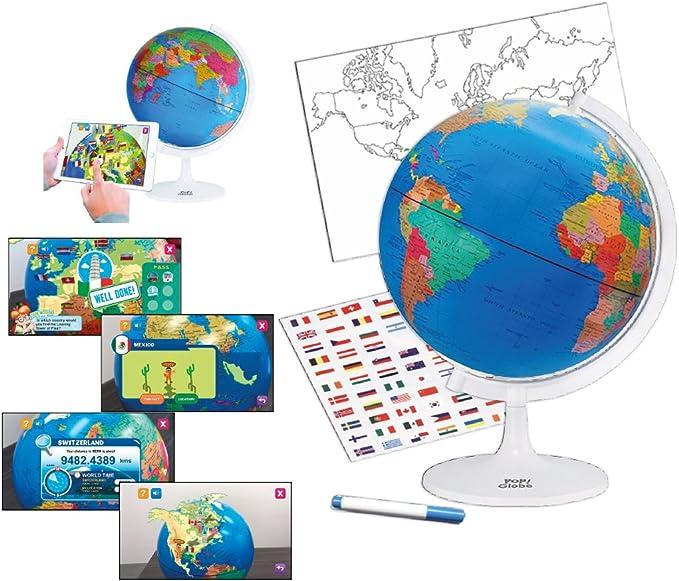 Cefa Toys Terráqueo Globo, Multicolor (21836): Amazon.es: Juguetes ...