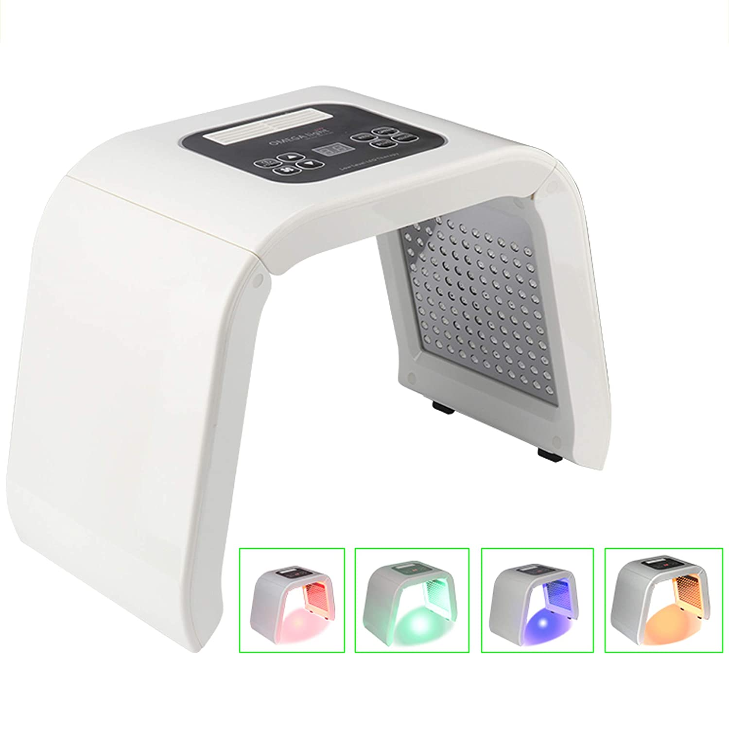 URYOUTH 7 Color LED Face Photon Mask Photon Light Skin Rejuvenation Therapy Facial Skin Care Machine