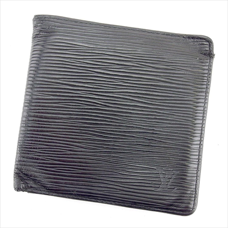 [ルイ ヴィトン] LOUIS VUITTON 二つ折り財布 レディース メンズ 可 ポルトビエ カルトクレディ モネ M63542 エピ 中古 T307 B0772PMK2D