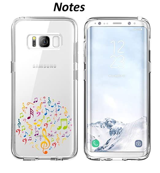 Amazon com: Samsung Galaxy S8 Plus Case Music Note Design