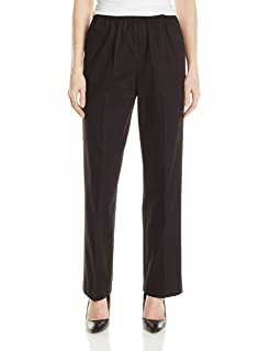 5add52fc79ddd1 Alfred Dunner Women's Petite Poly Proportioned Short Pant at Amazon ...
