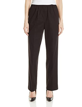 e5750b5a48107 Alfred Dunner Women s Proportioned Short Twill Pant at Amazon ...