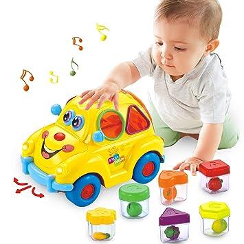 Actrinic Baby Spielzeug 6 18 Monate Früherziehung Musikbus