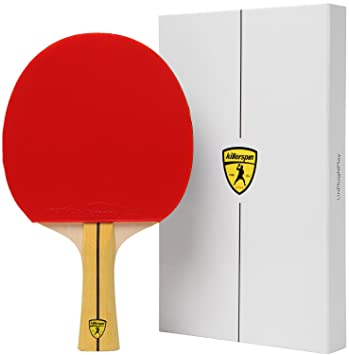 killerspin jet400 table tennis paddle multi colour ideal ping pong paddle for intermediate