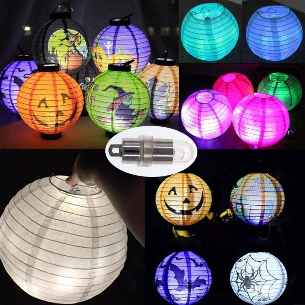 50 SumDirect Multicolor Mini LED Waterproof Slow Fade Blinking Lights for Paper Lantern Balloon Floral Wedding Halloween Christmas Party Decoration Centerpieces