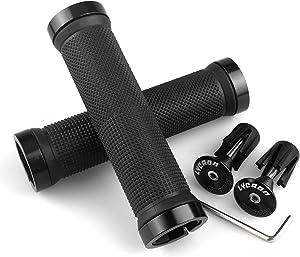 NIBBI Off-Road Handle Grips Comfortable Grip Non-Slip Durable For Motocross Throttle Handlebar black