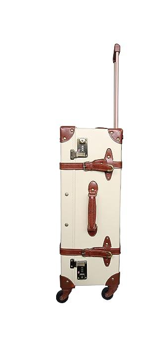 Goede Reisekoffer Vintage Trolley Hartschale Reise Retro Koffer M+L Set OB-62