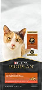 Purina Pro Plan With Probiotics, High Protein Dry Cat Food, Shredded Blend Salmon & Rice Formula - 6 lb. Bag