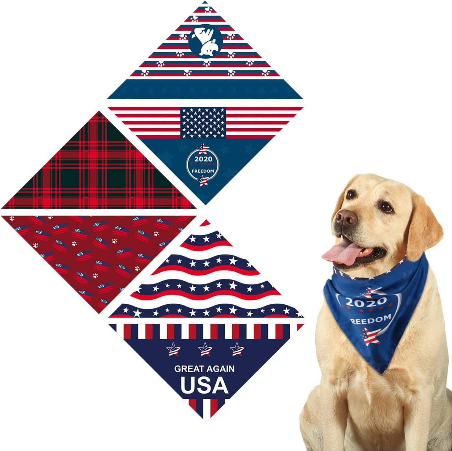 Halloween Tie On Pet Bandana  Dog Bandanas  Paw Print  Bandana  Free Shipping  Pet Accessories