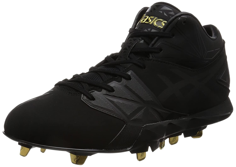 [アシックス] 野球スパイク ゴールドステージ SPEED AXEL SG(現行モデル) B01MV0ERLD 28.0 cm|ブラック/ブラック ブラック/ブラック 28.0 cm