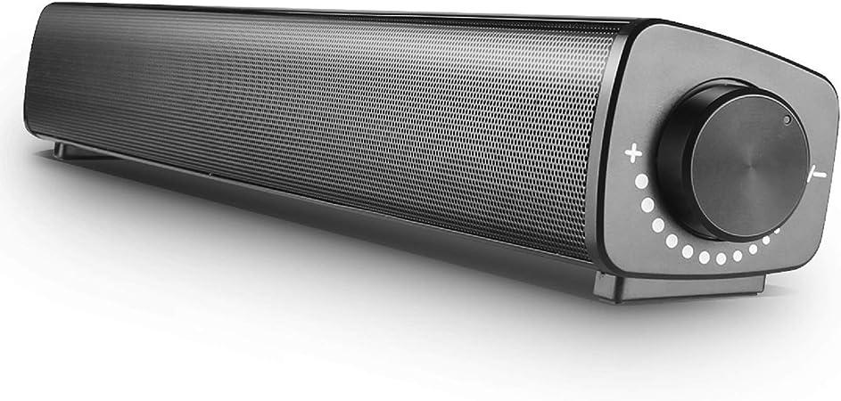 Pc Lautsprecher Vanzev Wired Usb Soundbar Mit 3 5mm Mikrofoneingang Und Kopfhörerausgang Schnittstelle Fassender Kompatibilität Für Computer Laptops Tablets Smartphones Beamer Audio Hifi