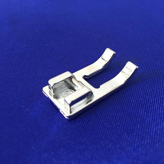 Prensatelas para bordado de puntera abierta pie de bordado insertable compatible para m/áquinas de coser dom/ésticas