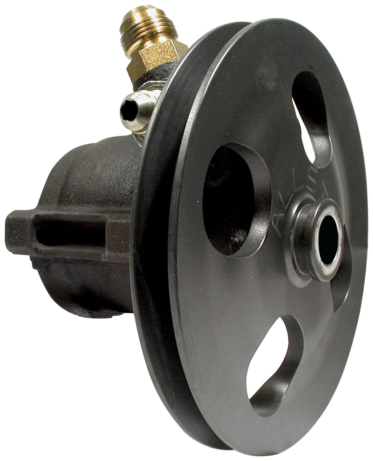 Allstar ALL48250 Steel Power Steering Pump with Pulley by Allstar (Image #1)
