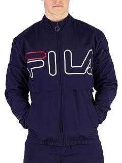 b10c4c272 Fila Men's Ambrose Colour Block Jacket, Blue: Amazon.ca: Clothing ...