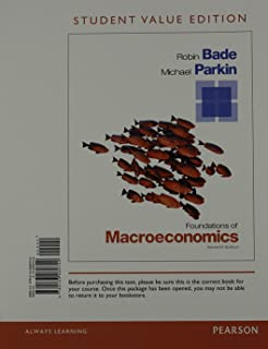 Foundations of microeconomics 7th edition 9780133477108 foundations of macroeconomics student value edition 7th edition pearson series in economics fandeluxe Choice Image