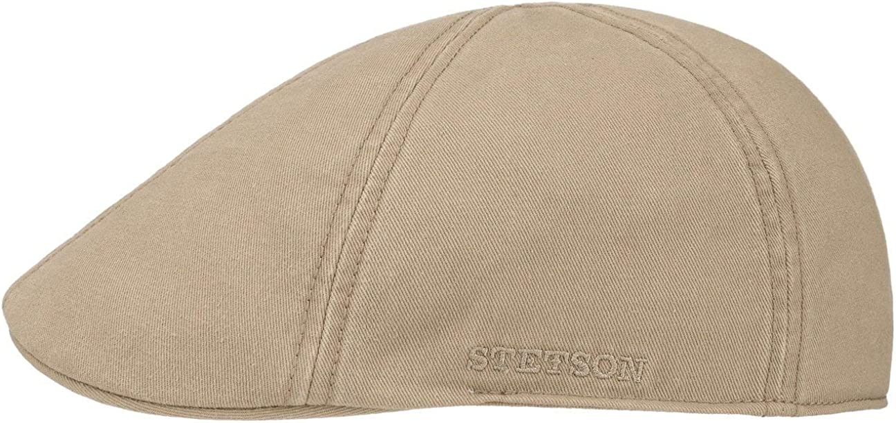 Stetson Gorra Texas con Protección UV Hombre - Gorro Ivy de algodón Sol Visera Primavera/Verano