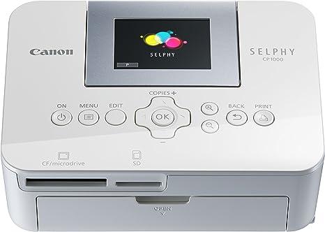 Canon SELPHY CP1000 Impresora de Foto Pintar por sublimación 300 x ...