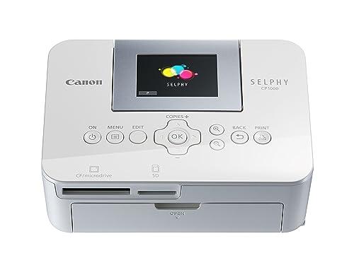 Canon SELPHY CP1000 Photo Printer, White