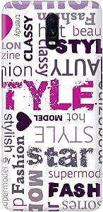 Stylizedd Oppo R17 Slim Snap Basic Case Cover Matte Finish - Fashion Statement