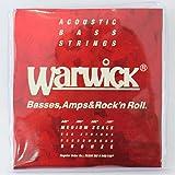 WARWICK 35200 MS4 RED BRONZE Acoustic 4-string Medium scale 045-105 アコースティックベース弦