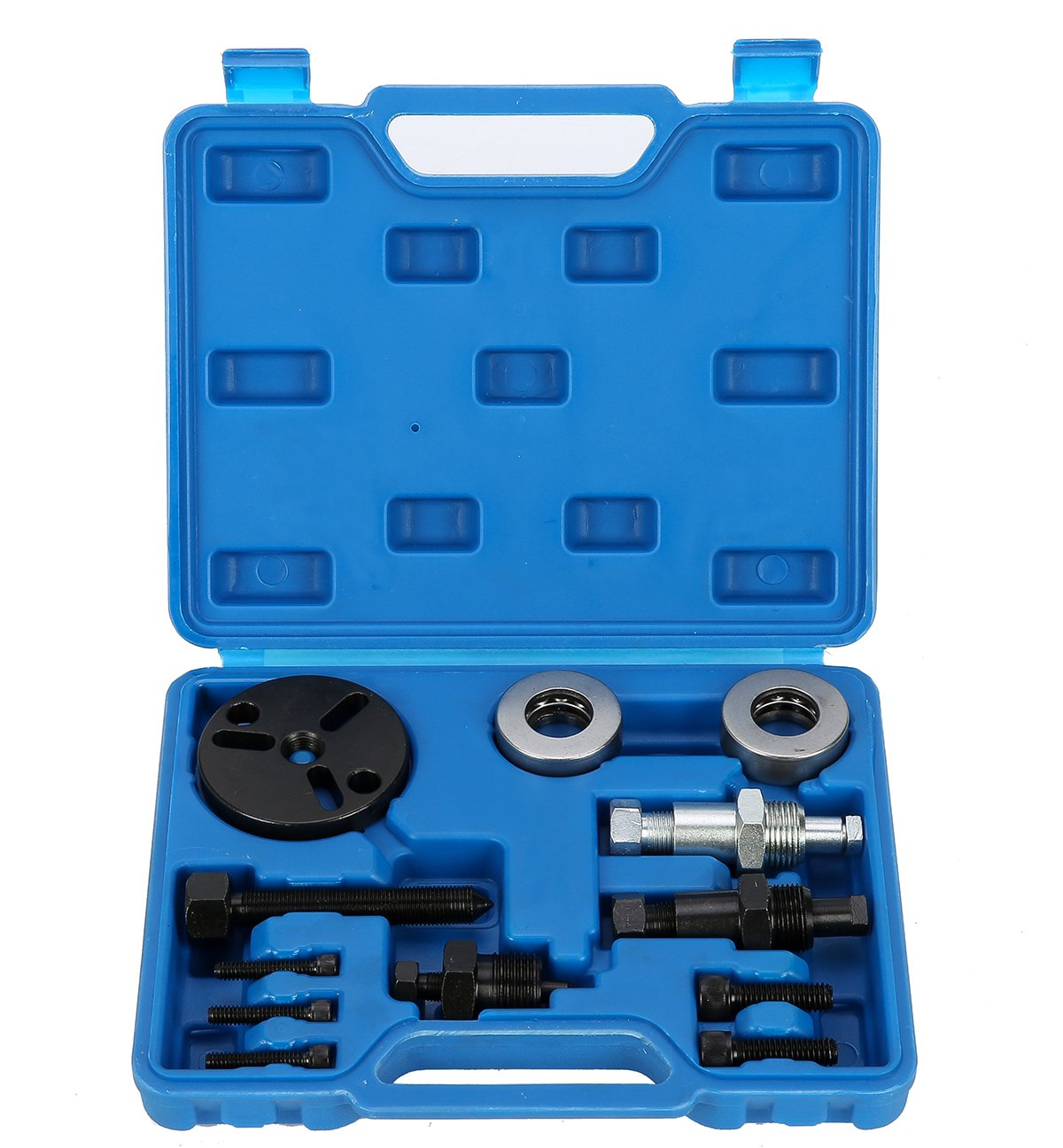 8MILELAKE Air Compressor Clutch Rebuild Removal Tool Kit AC Clutch Puller GM, Ford, Chrysler Auto Air Conditioning Remover Installer