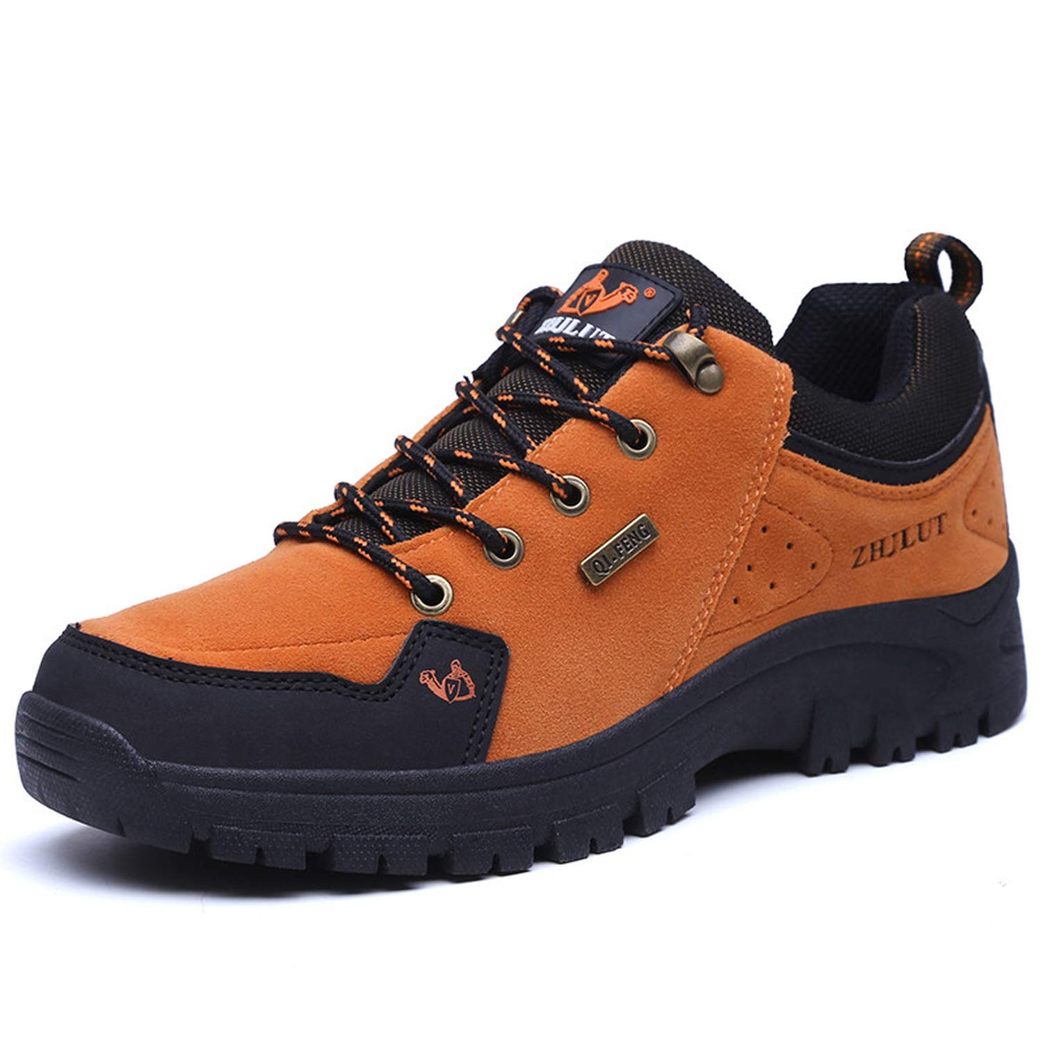 Amazon.com | 2019 Outdoor Men Shoes Comfortable Casual Shoes Men Fashion Breathable Flats for Men Trainers Zapatillas Zapatos Hombre, 15 Orange red, ...