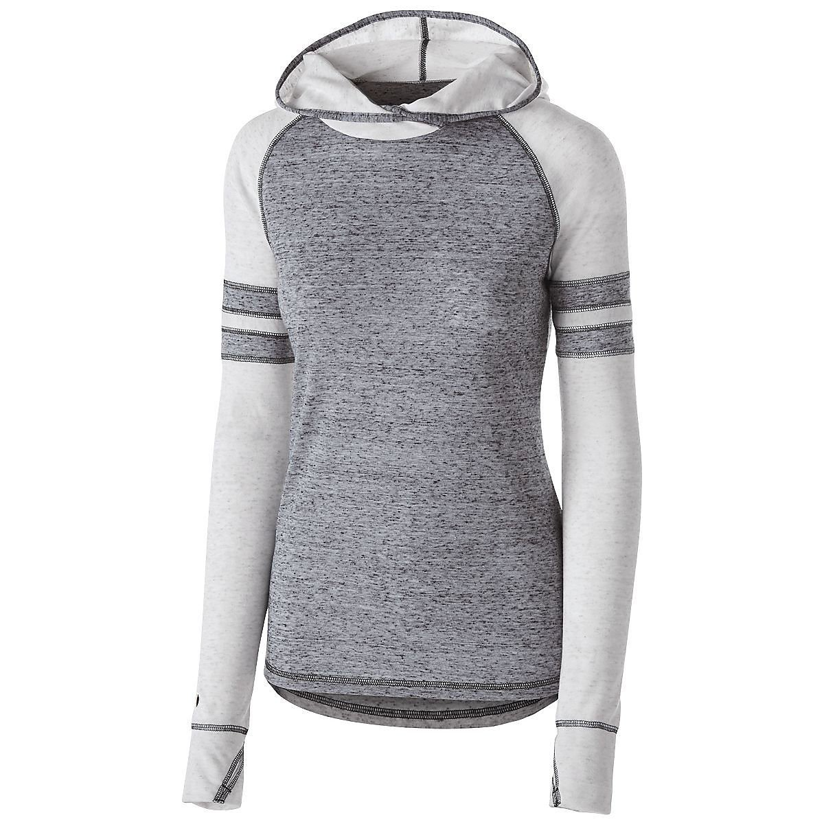 Women's Advocate Hoodie Holloway Sportswear L Black/Silver