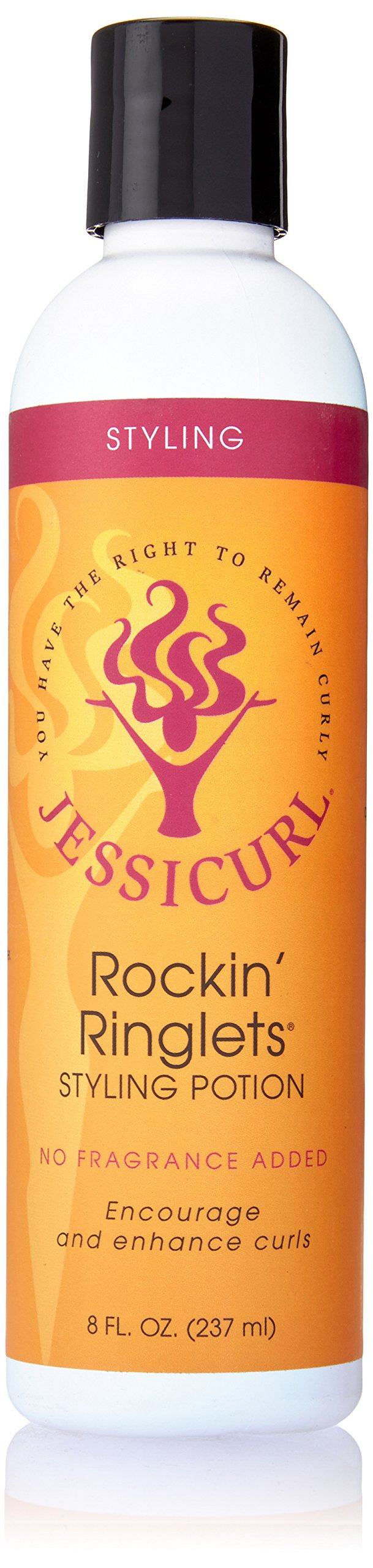Jessicurl Rockin Ringlets Styling Potion, No Fragrance, 8 Ounce by Jessicurl Llc.