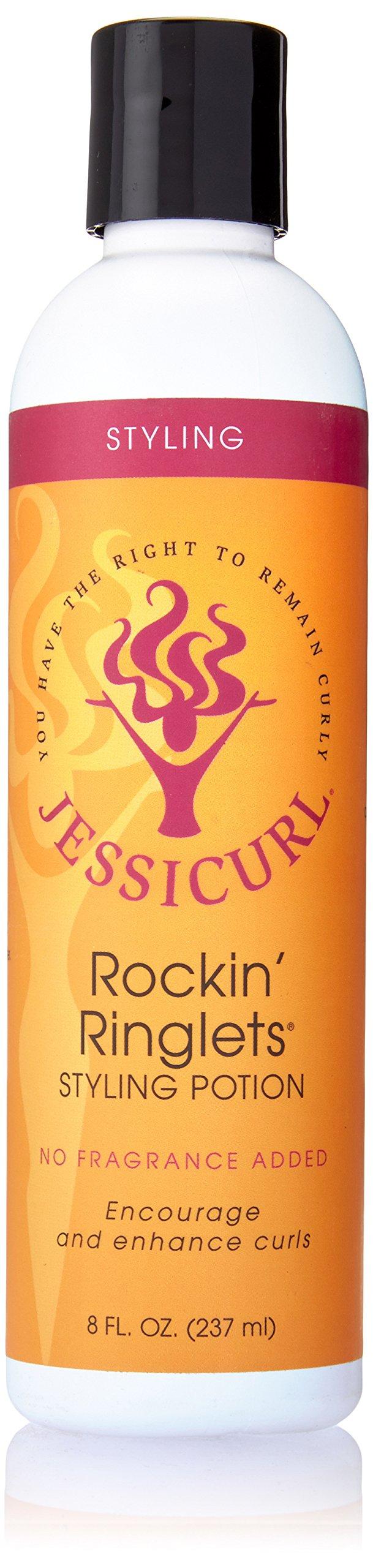 Jessicurl Rockin Ringlets Styling Potion, No Fragrance, 8 Ounce