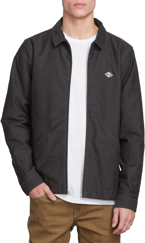 Volcom Mens Burkey Lightweight Garage Workwear Jacket