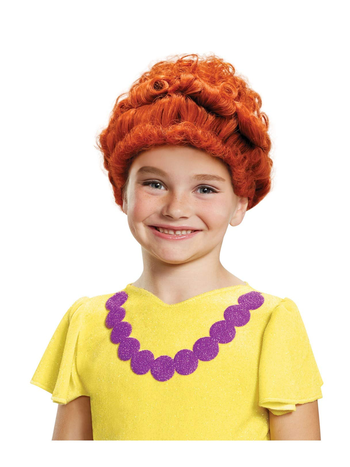 Fancy Nancy Wig Costume Accessory Red