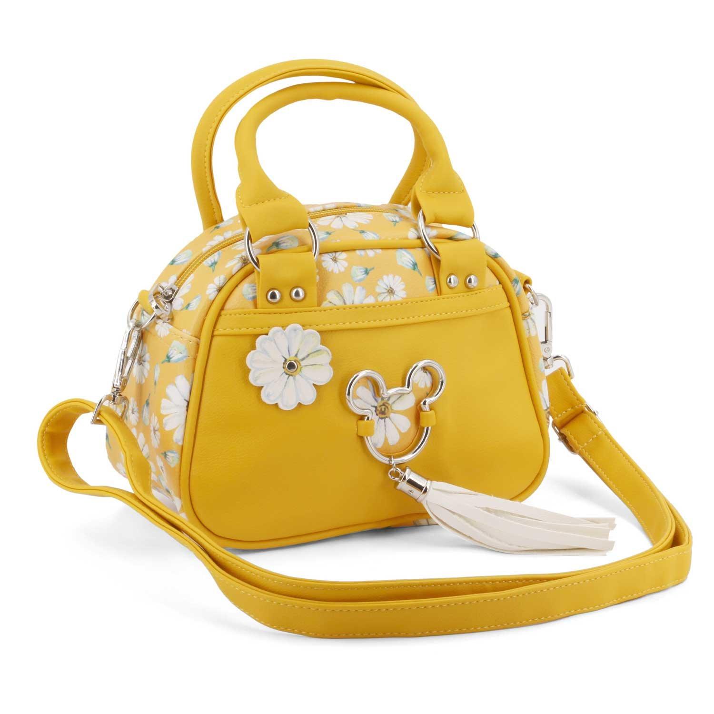Karactermania Mickey Mouse Camomilla-Bowling Fashion Handbag Borsa Messenger, 22 cm, Giallo (Yellow)