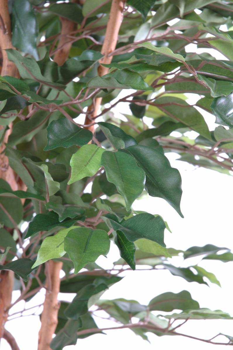 Arbre artificiel Ficus tronc simple plante synth/étique int/érieur taille : 150cm H.150cm