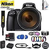 Nikon COOLPIX P1000 Digital Camera (International Model) Includes Memory Card Kit, Filter Kit and Cleaning Kit