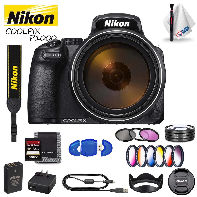 Cámara Digital Nikon COOLPIX P1000 (Modelo Internacional) Incluye ...