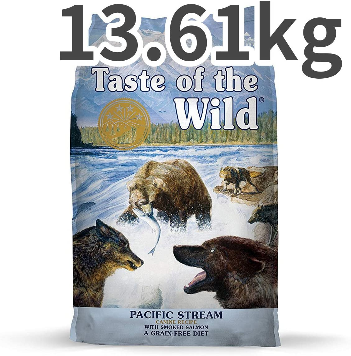 Taste of The Wild Pacific Stream Adult Dry Dog Food- 30LB Bag
