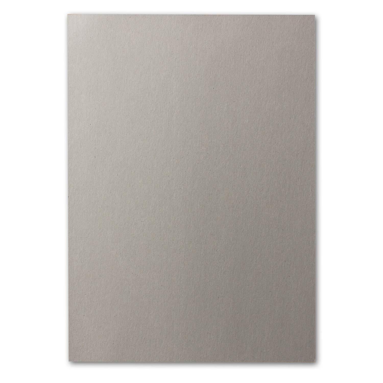 Plano di cartoncino per bricolage liscio e grigio rubino 10 pezzi DIN A3-400 g//m/² 2 lati Neuser