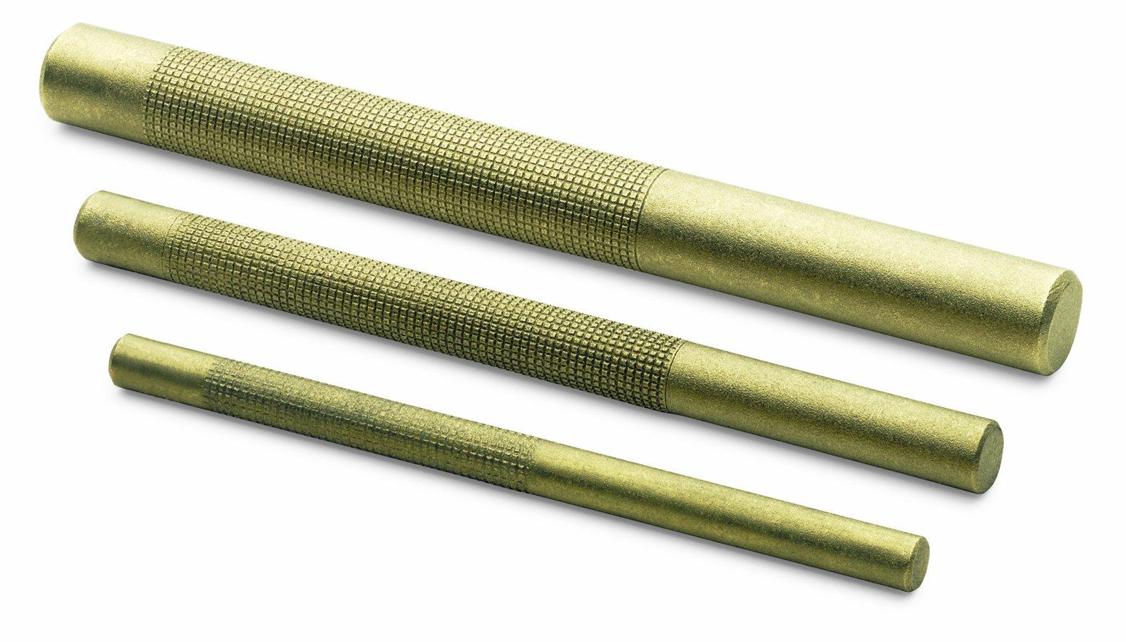 SK Hand Tool 6323 Drift Punch Set, Brass, 3-Piece