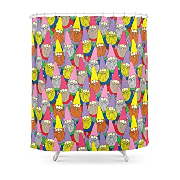Society6 Mister Gnome Shower Curtain 71quot