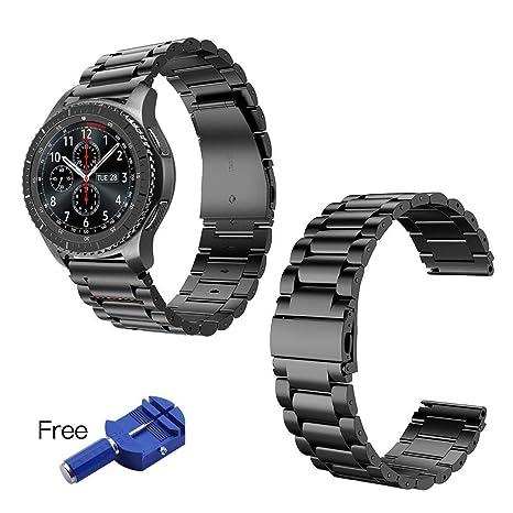 Correa de reloj para Samsung Galaxy Gear S3 Classic/Frontier ...